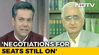 Congress Alliance With Akhilesh Yadav Not A One Night Stand: Salman Khurshid