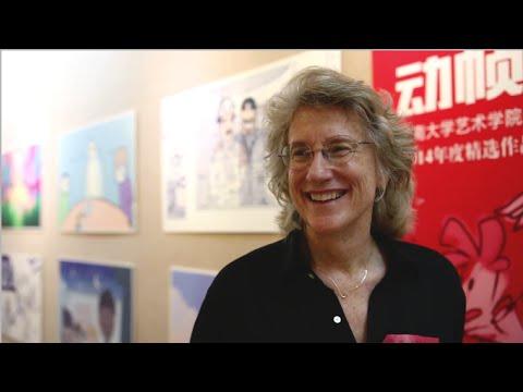 BECKY BRISTOW - GUANGDONG TV DOCUMENTARY - GUANGZHOU, CHINA 2014