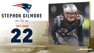 #22: Stephon Gilmore (CB, Patriots) | Top 100 Players of 2019 | NFL