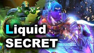 LIQUID vs SECRET - The International 7 DOTA 2