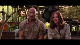 Герои заходят в хижину Алекса   Джуманджи зов джунглей момент 22