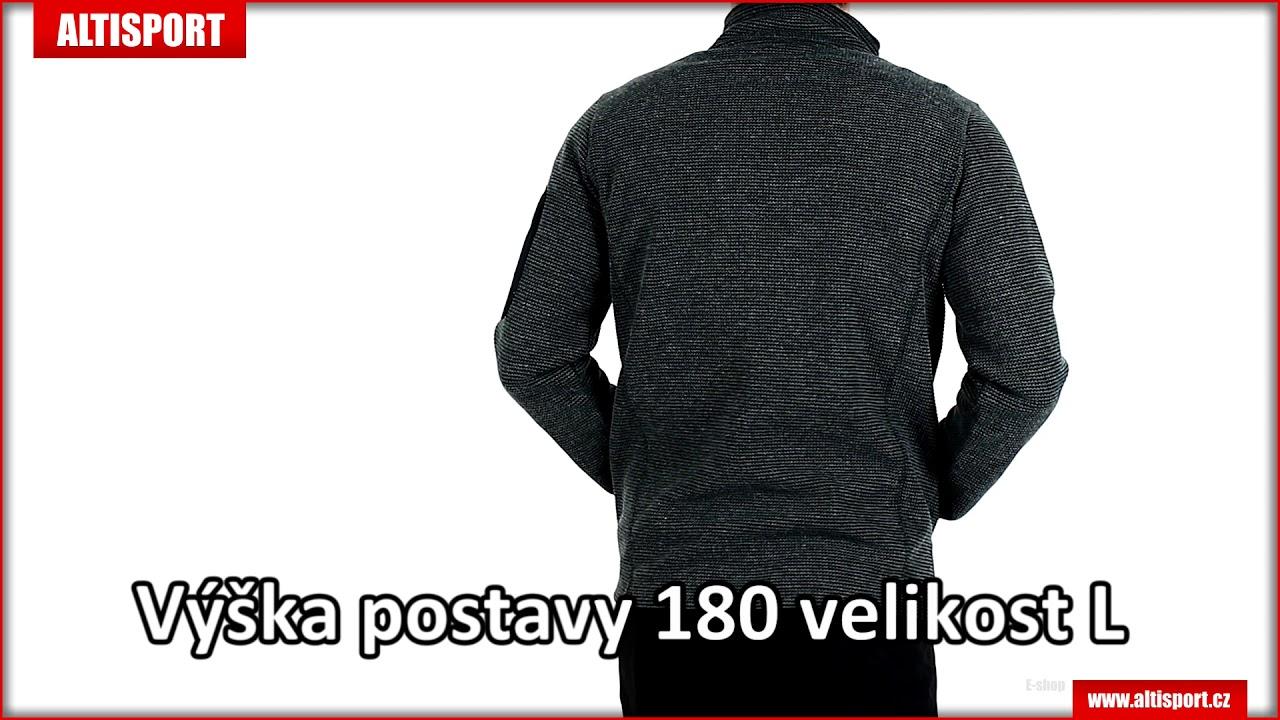 782a6a5f28ef pánský svetr alpine pro eneas 3 mpln052 šedá - YouTube
