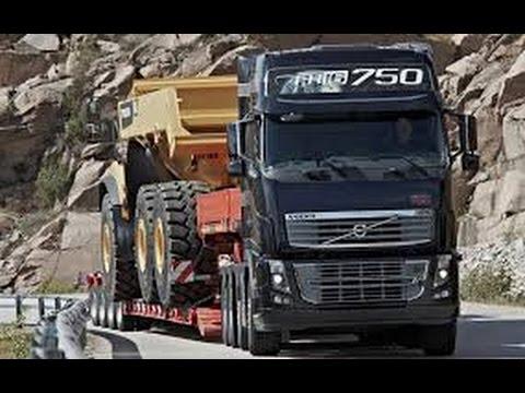 VOLVO FH16  750cv com carga de  750 ton