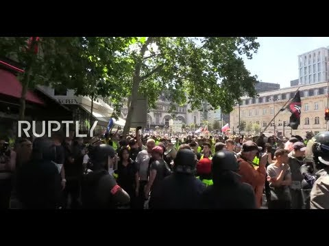 : Yellow Vests protest for the 32nd straight week in Paris