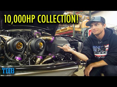 What 10,000 HP Looks Like! FatHouse Performance Car Collection And Tour!