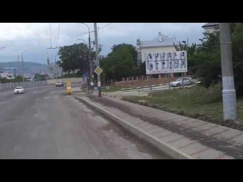 Ремонт дороги Сухумское шоссе (Новороссийск)