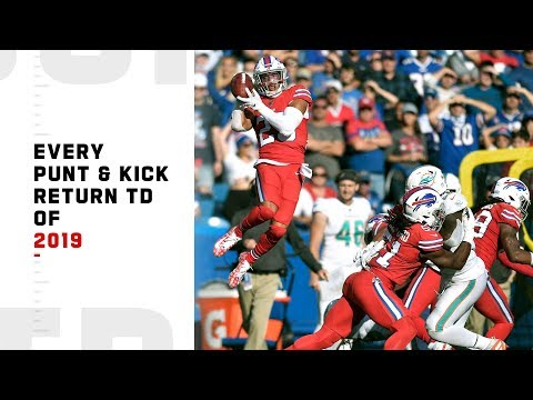 Every Punt & Kick Return TD of 2019 | NFL Highlights