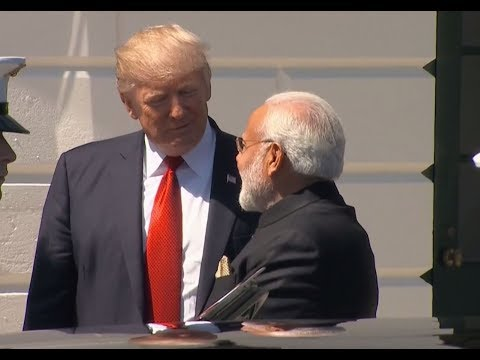 The Trump Card: Narendra Modi arrives at the White House