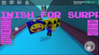 Jumping over all ROBLOX boxes (BOX RANSING)