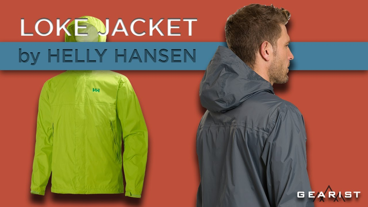 2c406392 HELLY HANSEN LOKE JACKET REVIEW - YouTube