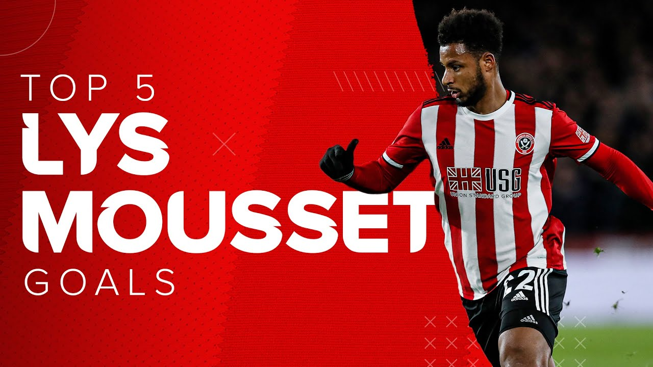 Lys Mousset Goals | 5 of the best Premier League goals from the French Sheffield United striker.