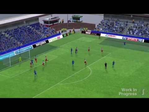 Pre-Beta #FM15 Match Engine Footage (English version)