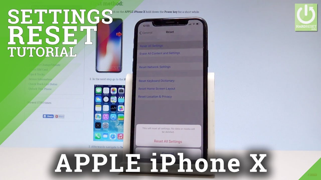 How to reset the iPhone to factory settings: tips and tricks