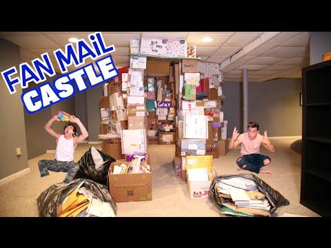 FAN MAIL CASTLE!?!? (Opening Fan Mail)