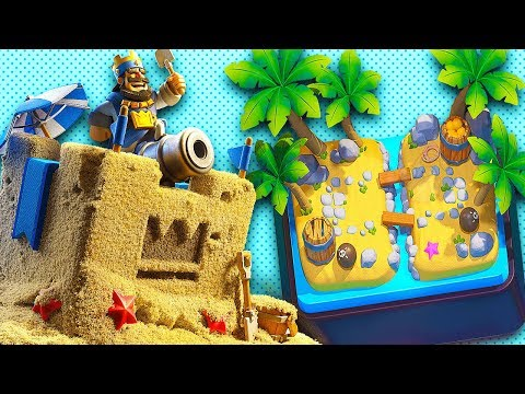 Clash Royale Season 2 'SHIPWRECKED' Tower Skin + Arena New Update