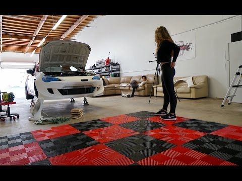 Garage Flooring! Major Improvement To The Dream Garage!