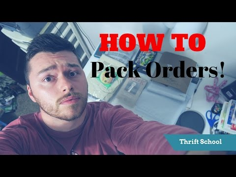 How to Package and Ship Ebay and Amazon Orders | Weekend Sales