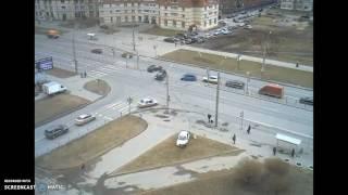 Сильное ДТП Перекресток Камышовой и Гаккелевской