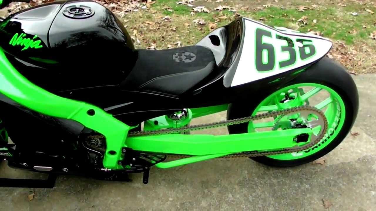 Kawasaki Ninja R Lowering