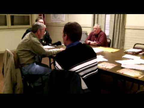 Morris Town Mtgs 2-12-2013, Road Use Law & Town Board Mtg