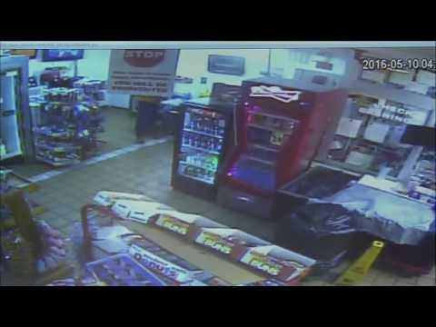Fulton County clerk shooting surveillance video