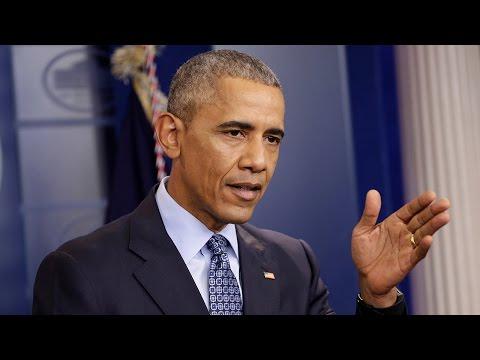 President Barack Obama holds final press...