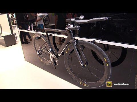 a54520be83f 2016 Cannondale Slice Hi Mod Black inc Triathlon Bike - Walkaround - 2015  Eurobike - YouTube