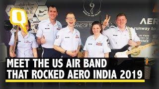 Aero India 2019: US Air Force Bands Rocks the Air Show  | The Quint