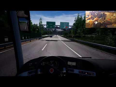 Im Fernbus durch die Schweiz von Basel nach Genf