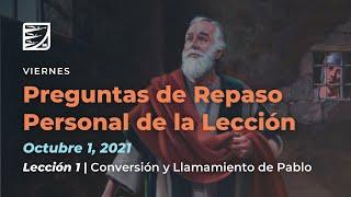 Viernes 1 de Octubre   Leccion de Escuela Sabatica    Pr  Orlando Enamorado