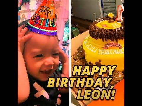 Happy birthday, Leon | KAMI | Drew Arellano and Iya Villania's younger son Leon celebrated