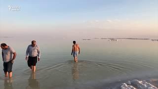 Quruyan Urmiyə gölündən son video görüntülər