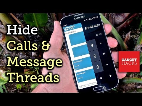 Hide Android Calls & Messages In A Calculator App [How-To]