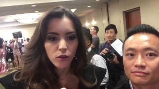 Señorita Colombia 2013 Paulina Vega Interview at the Miss Universe 2014 Press Junket Thumbnail