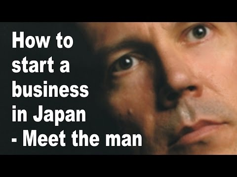 Start a Business in Japan - Meet the PRO!