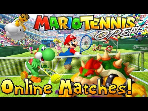 Mario Tennis Open Live Stream | Online Matches (Recorded 5/21/2012)