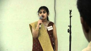 Christy singing Manju Mazha Kattil from Aagathan