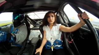 Special drifting shows hoe this girl enjoys it.