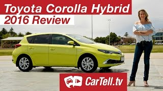 Toyota Corolla Hybrid 2016 - Review