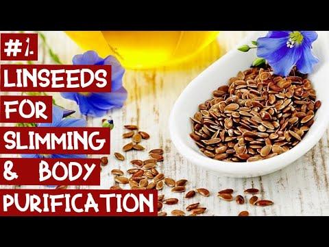 1.часть. Kак похудеть на льняных семенах и чистка организма