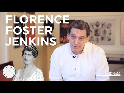 60 Seconds with Gino: Florence Foster Jenkins