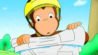 George O Curioso 🐵George Anda de Bicicleta  🐵O Macaco 🐵 Episódio Completo 🐵 Desenhos Animados