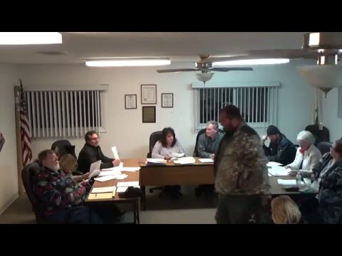 12/07/15 Village of Holiday Hills Board Meeting