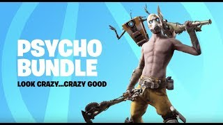 Psycho Bundle Giveaway // Building is Broken // Fortnite Live Stream