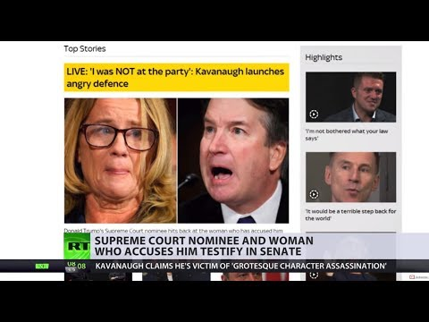 Soap opera takes over US news as Kavanaugh drama continues