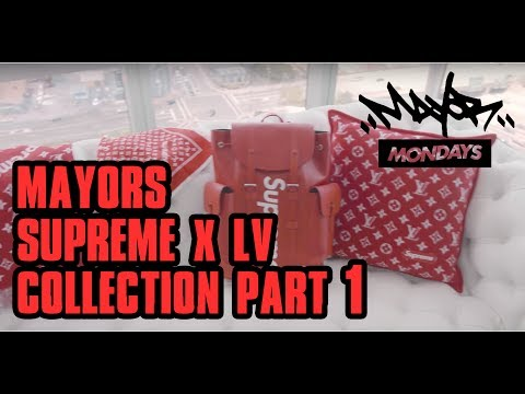 Supreme x Louis Vuitton (LV) Collection Part 1 | Mayor Mondays