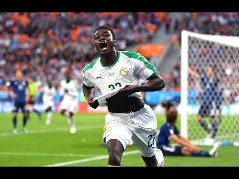 Moussa Wagué (71')GOAL SENEGAL vs JAPAN..   Estadio Central Ekaterimburgo
