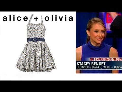 Alice + Olivia Fashion Designer Stacey Bendet Interview
