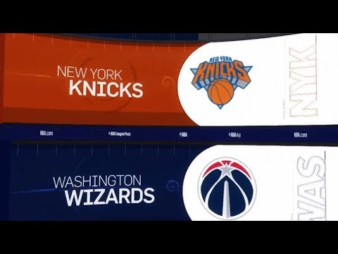 Washington Wizards vs New York Knicks Game Recap | 1/17/19 | NBA