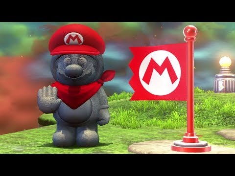 Super Mario Odyssey Walkthrough Part 29 - Bowser's Kingdom